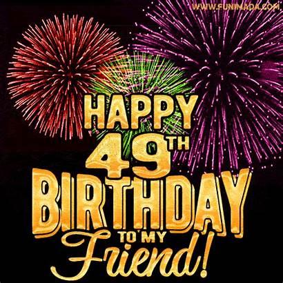 Birthday 49th 65th Happy 86th Animated Friend