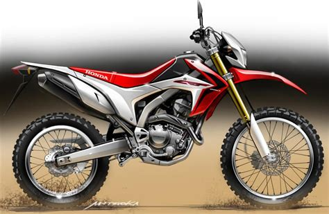 2016 Honda Crf250l Review Of Specs / Development