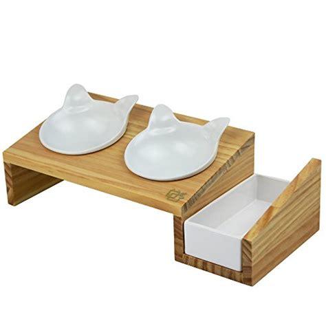 elevated cat food table vivipet cat dining table 15 tilted platform pet feeder