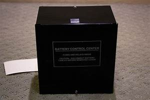 Rv Components Used Rv  Motorhome Battery Control Center 73