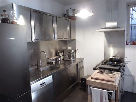 meuble inox cuisine pro meuble de cuisine inox cuisine idées de décoration de maison 6kdajpqbvm