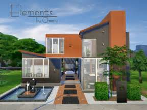 The Sims Houses by The Sims Resource Elements Residential Home By Chemy