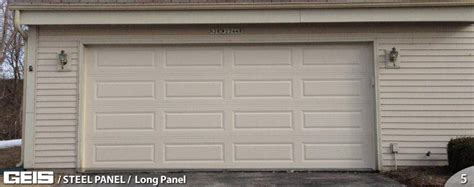 wide garage door wide panel steel panel geis garage doors milwaukee