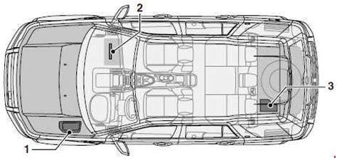 Land Rover Freelander 2 Fuse Box Diagram by Land Rover Freelander L359 2006 2016 Fuse Box