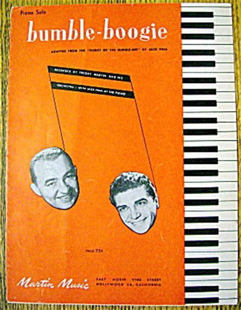 1946 Bumbleboogie By Jack Fina (freddy Martin) (sheet