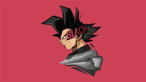 black goku qhd wallpaper