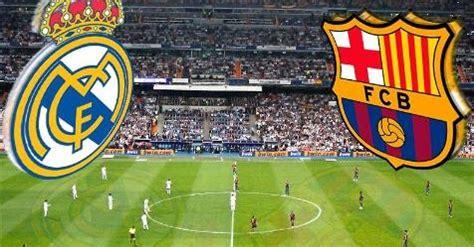 Real Madrid vs Barcelona partido Supercopa Española ...