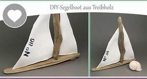 Basteln Mit Treibholz : basteln mit treibholz bastelanleitung zum diy segelboot wohncore ~ Markanthonyermac.com Haus und Dekorationen