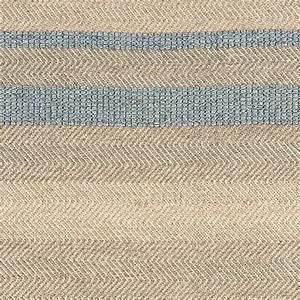 tapis moderne raye en laine coton et viscose bleu ciel With tapis beige et bleu