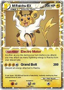 Pokémon M Raichu EX 39 39 - Electro Motor - My Pokemon Card