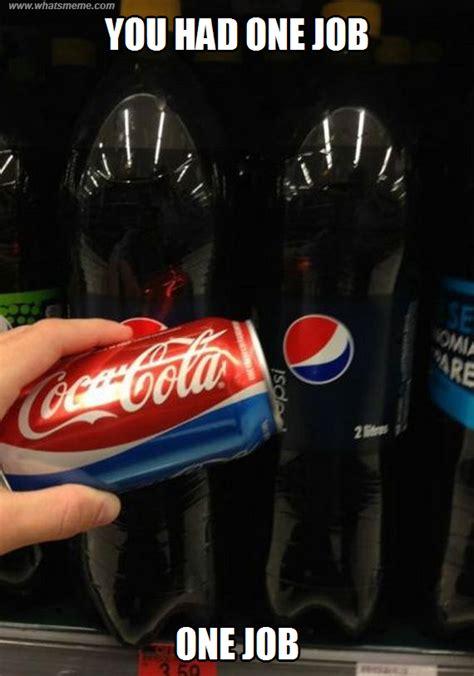 Pepsi Memes - coca pepsi what s meme