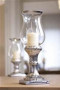 Kerzenständer Silber Groß : windlichtglas windlicht gro vase glas in silber h he 41 cm oder 50 cm neu ebay ~ Frokenaadalensverden.com Haus und Dekorationen
