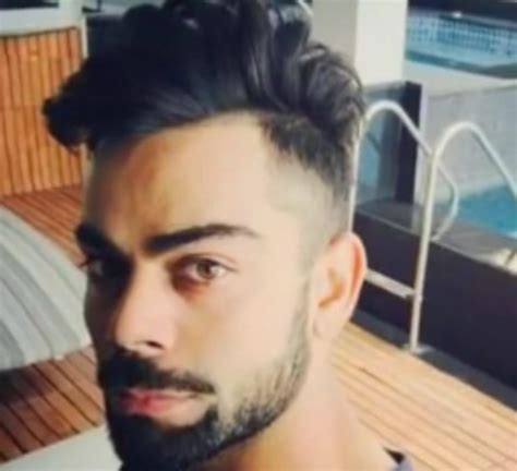 Kohli Hairstyle The Gallery For Gt Virat Kohli New Hairstyle Images