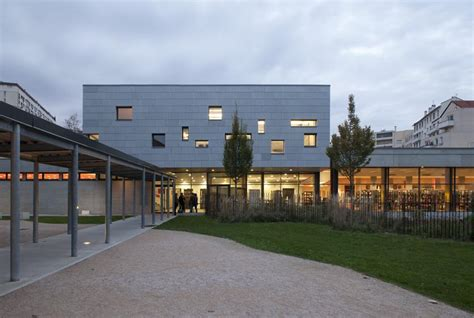 Extension Of The Iufm School In Lyon France By Atelier De La
