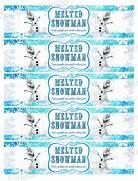 Frozen Bottle Label Fr...