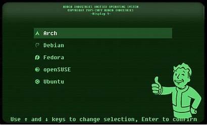 Fallout Grub Themes Grub2 Pling Gnome Opendesktop