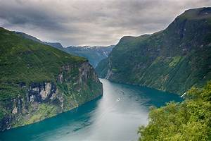 Nature, Landscape, Clouds, Norway, Mountains, River