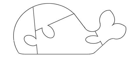 whale puzzle template    fonts quiet book