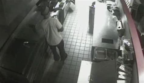 Dude Breaks Into Five Guys Just To Cook Himself A Burger