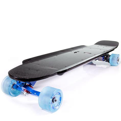 Carbon Fiber Electric Skateboard Deck by Enertion Boards All In One Carbon Fiber Electric