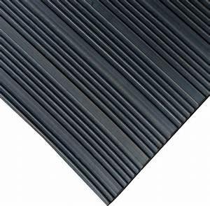Composite rib rubber rubber floor mats 1 8 thick 439 wide for Trex floor mats