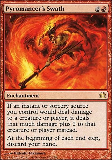 Mtg Pyromancer Deck Modern by Pyromancer S Swath Mma Mtg Card