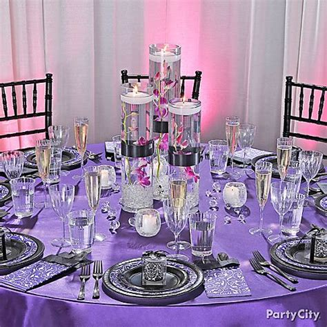 purple and silver party decorations laurensthoughts com