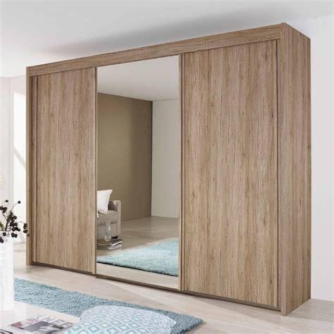 Wooden Wardrobe With Mirror by Rauch Imperial Sliding Wardrobe