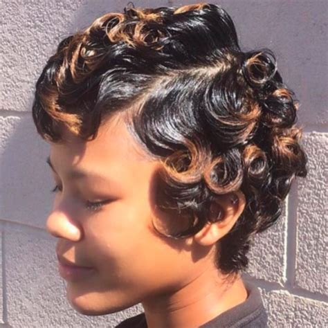 short curly hairstyles  black women herinterestcom