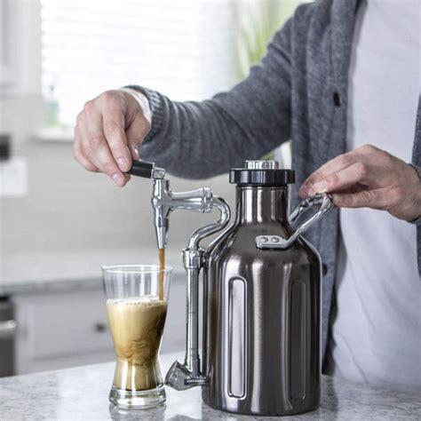 I don't drink too much real nitro coffee since i've. GrowlerWerks uKeg Nitro Cold Brew Coffee Maker » Petagadget