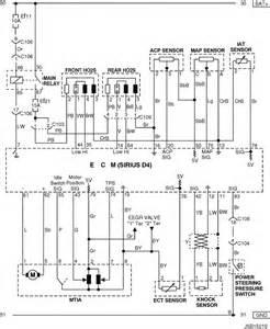 Daewoo O2 Sensor Wiring by Electrical Wiring Diagram 2005 Nubira Lacetti 4 Ecm