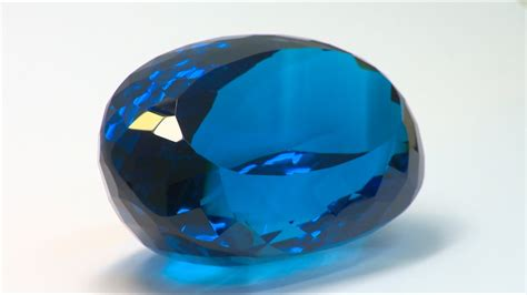 The World's Largest Blue Topaz Gemstone Discovered By