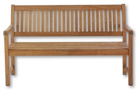 59 quot traditional teak bench traditional outdoor benches
