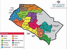 OCBSA Districts Mapjpg OC Boy Scouts