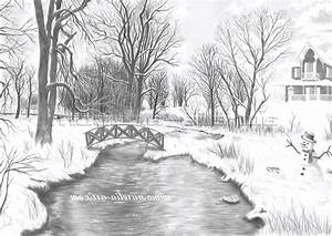 Beautiful Pencil Sketches Of Nature - Drawing Of Sketch