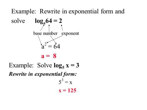 how to write an expression in exponential form rewrite each equation in exponential form tessshebaylo