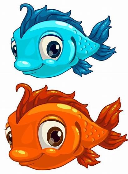 Fish Clipart Clip Printable Cartoon Sea Ocean