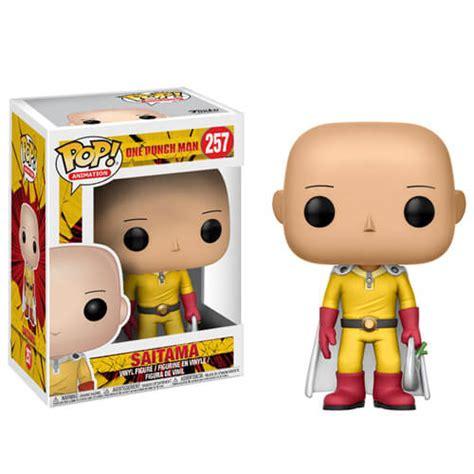 Figurine Pop! Saitama One Punch Man  Pop In A Box France