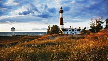 Lighthouse Background Lighthouses Wallpapers Coastal Desktop Sunset