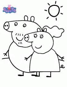 111 Dessins De Coloriage Peppa Pig Imprimer Sur