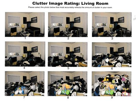 living room clutter image rating scale your simplified llc