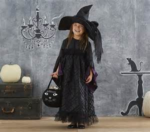 Black Witch Halloween Costume, 7-8