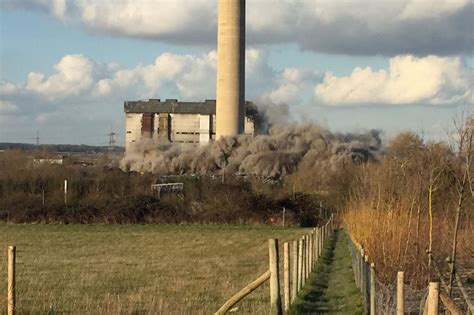 didcot power station collapse  discharged