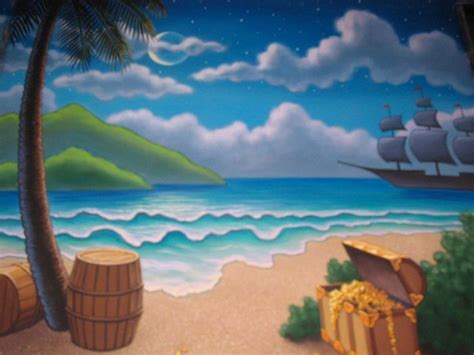 drops treasure island google search painted