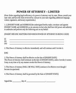 15 power of attorney templates free sample example for Corporate power of attorney template