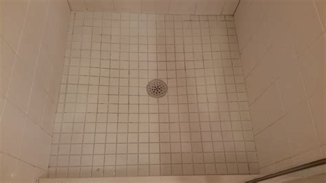 flooring shower floor is in bad shape what options do