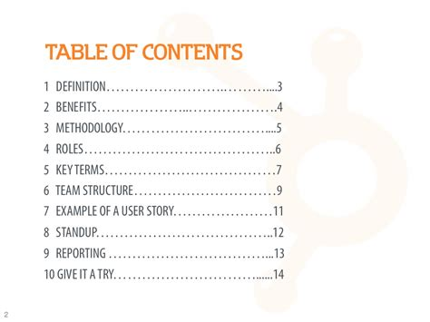 Table Of Contents 1 Definition 3