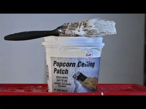 Zinsser Popcorn Ceiling Patch Canada by Easy Way To Patch A Popcorn Ceiling Dashblogs