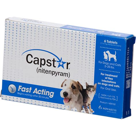 capstar flea tablets  dogs  cats  lbs petco