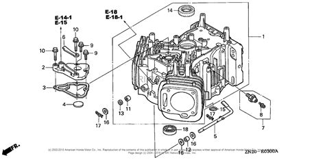 Honda Engines Gxv Taf Engine Jpn Vin Gjah